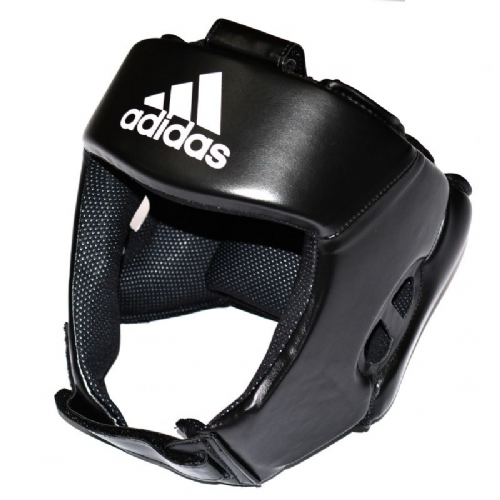 Adidas AIBA Style Training Head Guard - Black